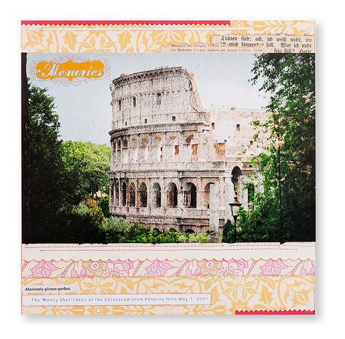 Rome Memories layout