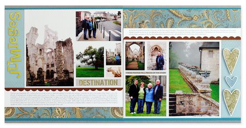 Jumieges 2 page spread