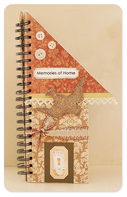 Memories of home mini album cover