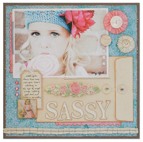 Sassy layout