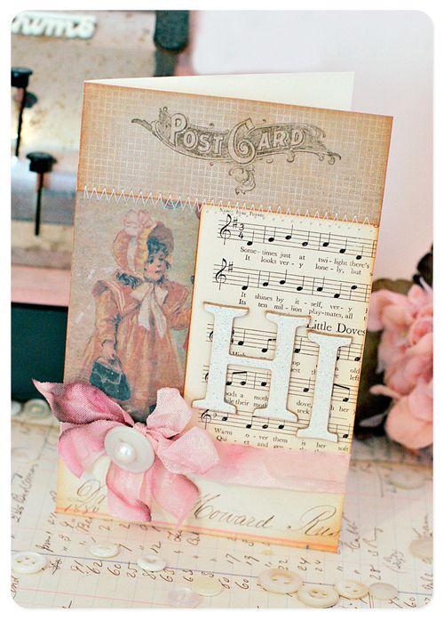 Card - attic treasures hi