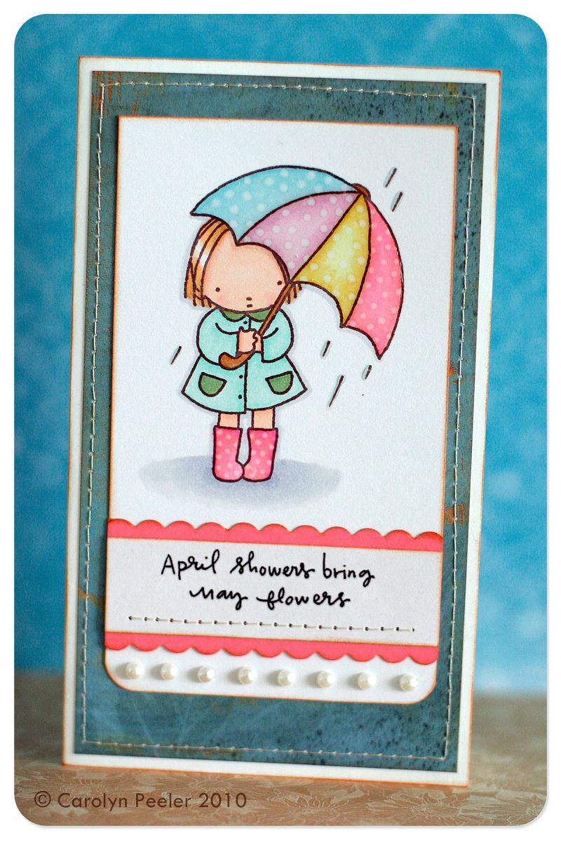 Card - April Showers