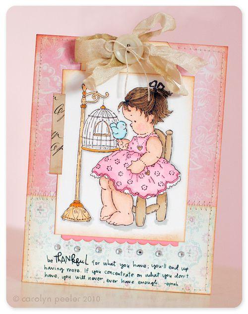 Card - be thankful