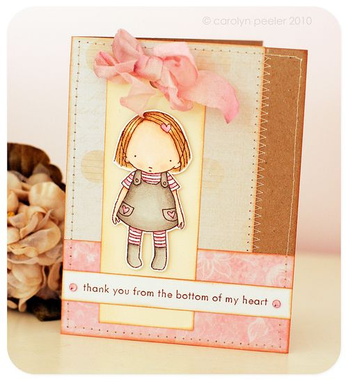 Card - Thank you from the bottom of my heart 2