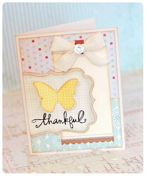 Card - thankful 3