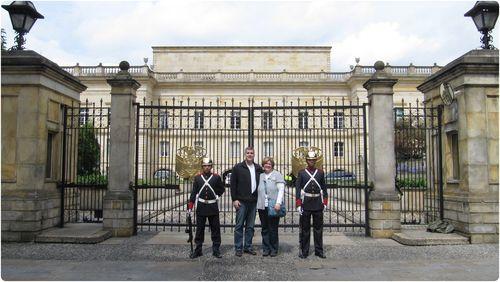Rick and carolyn at white house