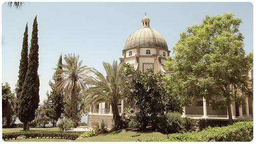 Church of the  beatitudes 2