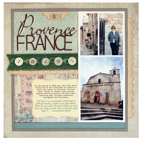 Provence france layout