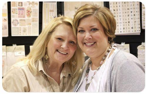 CHA 2012 - Carolyn and Melissa