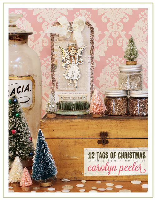 12 tags of Christmas title image for ellen sized for web