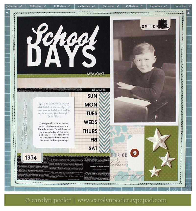 School Days for blog carolyn