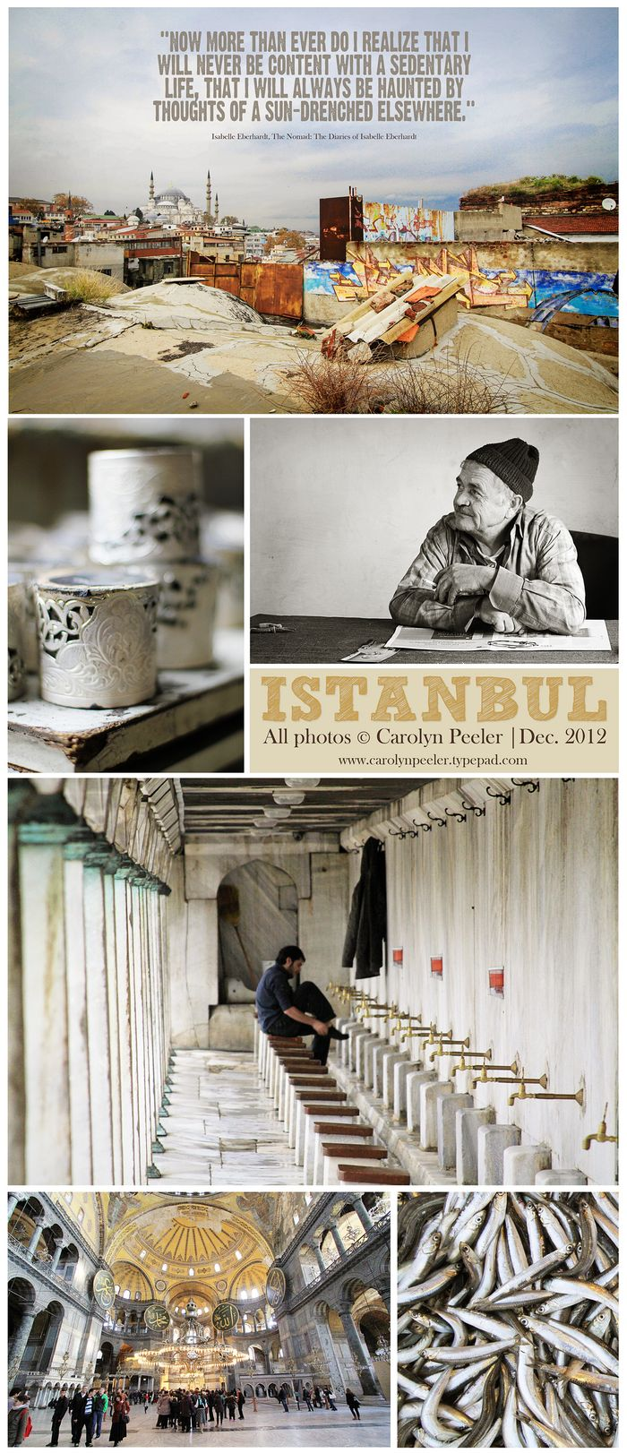 Istanbul collage