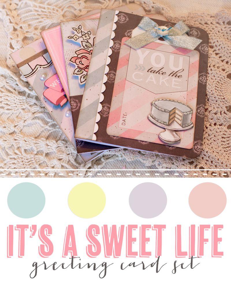 It's a sweet life card class