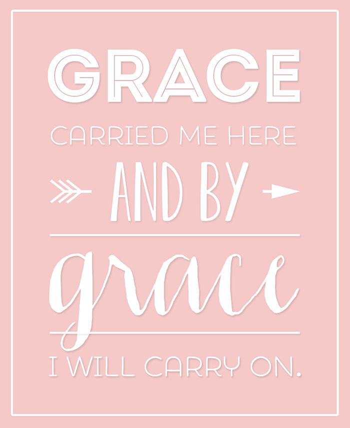 By grace by Carolyn Peeler