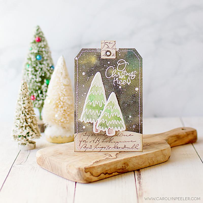 O Christmas tree tag 800