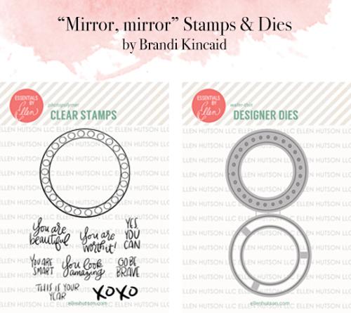 Mirror, mirror stamp die sets