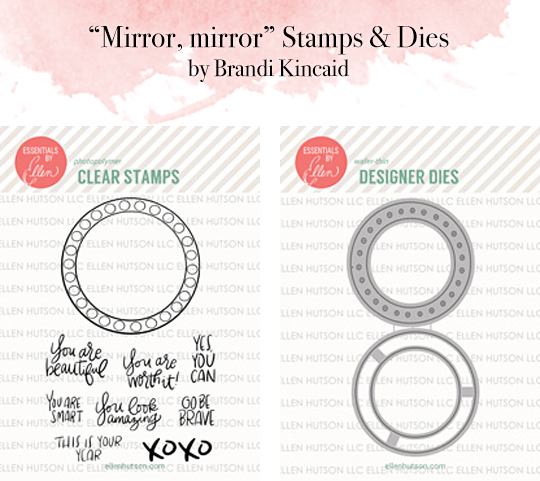 Mirror, mirror stamp die sets