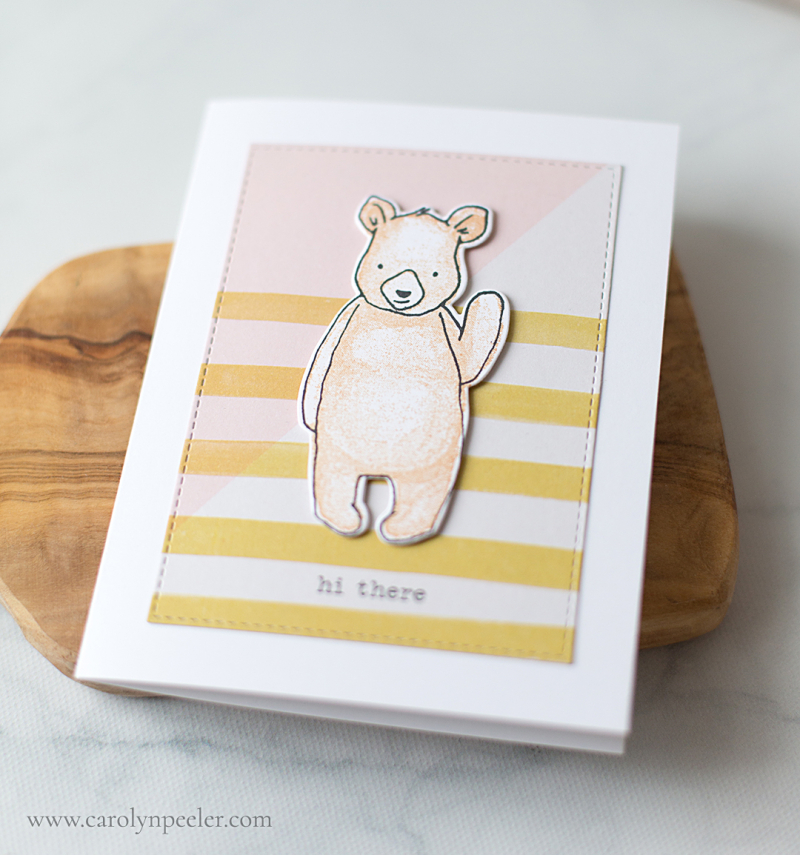 Hi there bear by carolyn peeler