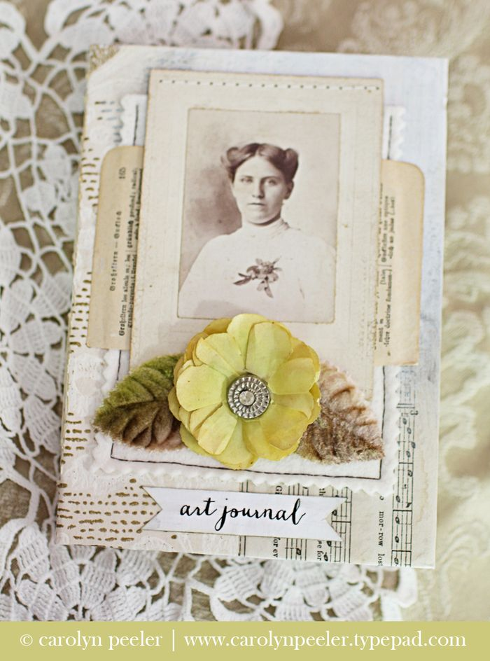 Art Journal No 2 by Carolyn Peeler