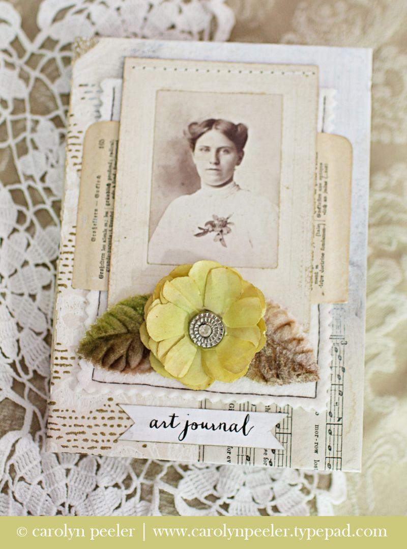 Art Journal No 2 by Carolyn Peeler