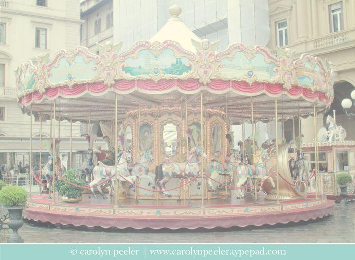 Florence carousel by Carolyn Peeler