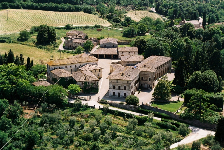Bichi Borghesi aerial photo