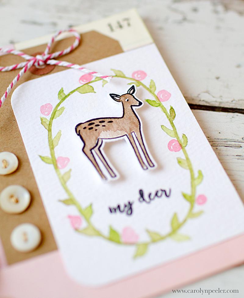 Oh deer by carolyn peeler lay flat