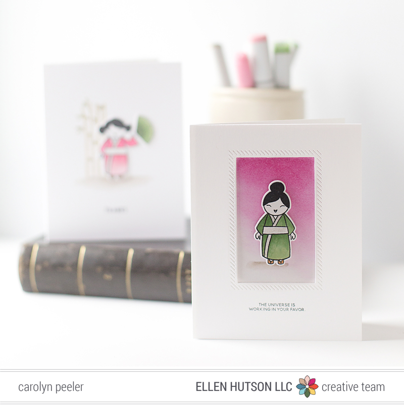 So Matcha - universe card by Carolyn Peeler for blog EH