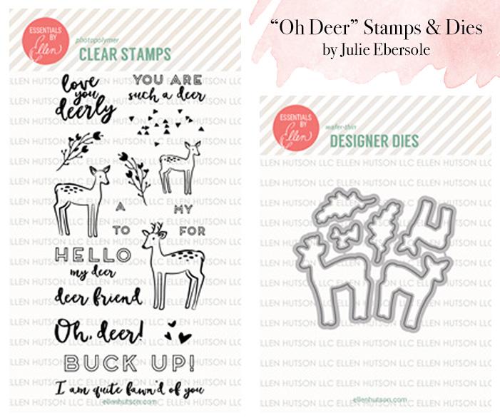 Oh deer stamp die sets