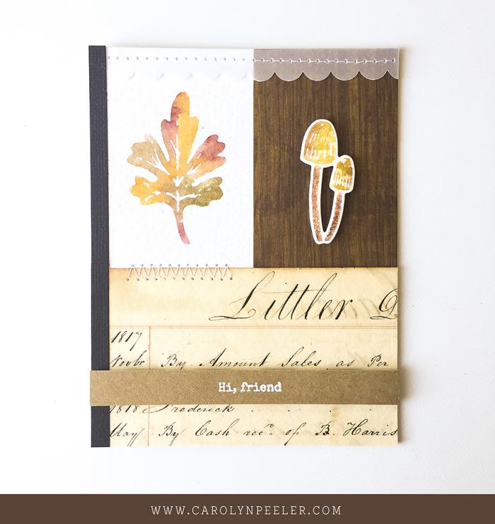 Snailed it card by Carolyn Peeler for blog