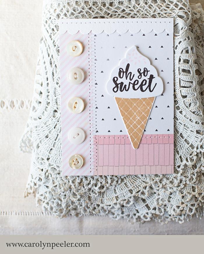 So sweet ice cream
