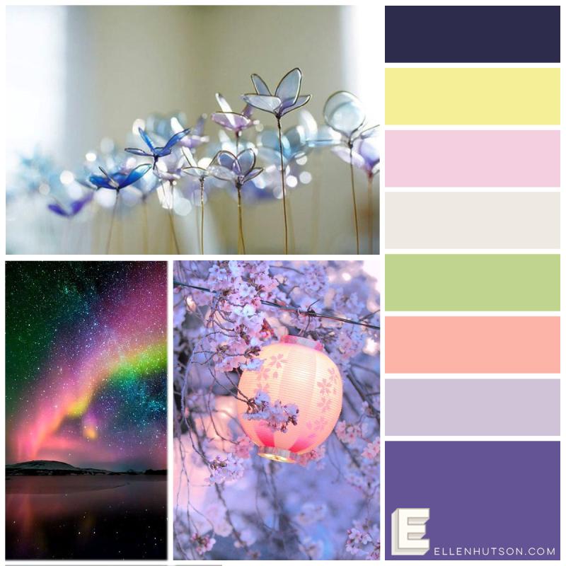 Pin-Sights Color Trend Floral Fantasies May