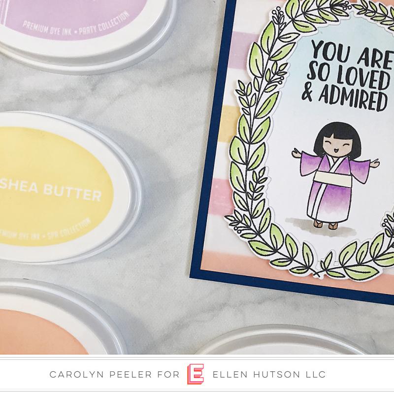 Pantone challenge Floral Fantasies Carolyn Peeler 3 square