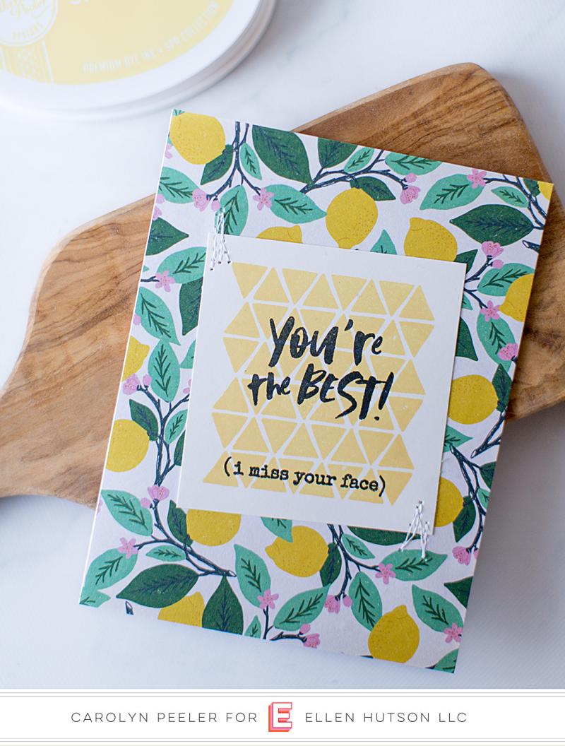 You're the best lemon card