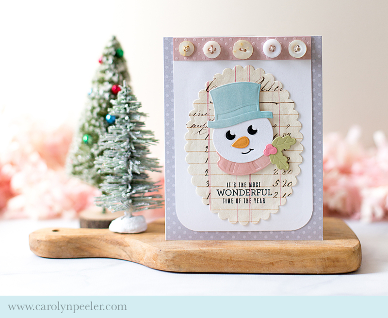 Wonderful time of the year Spellbinders by Carolyn Peeler