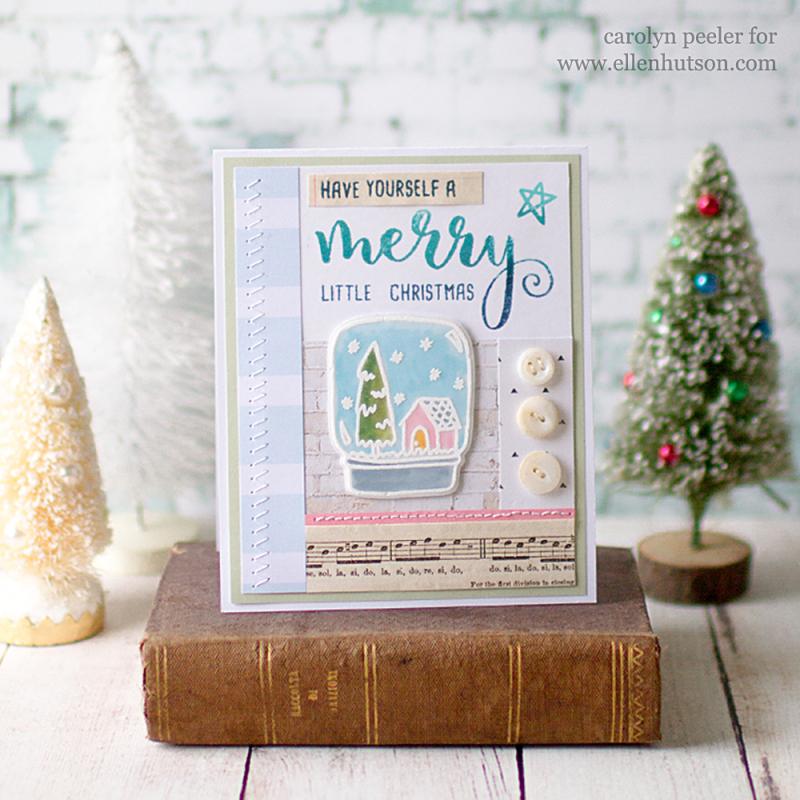 Merry little christmas by carolyn peeler