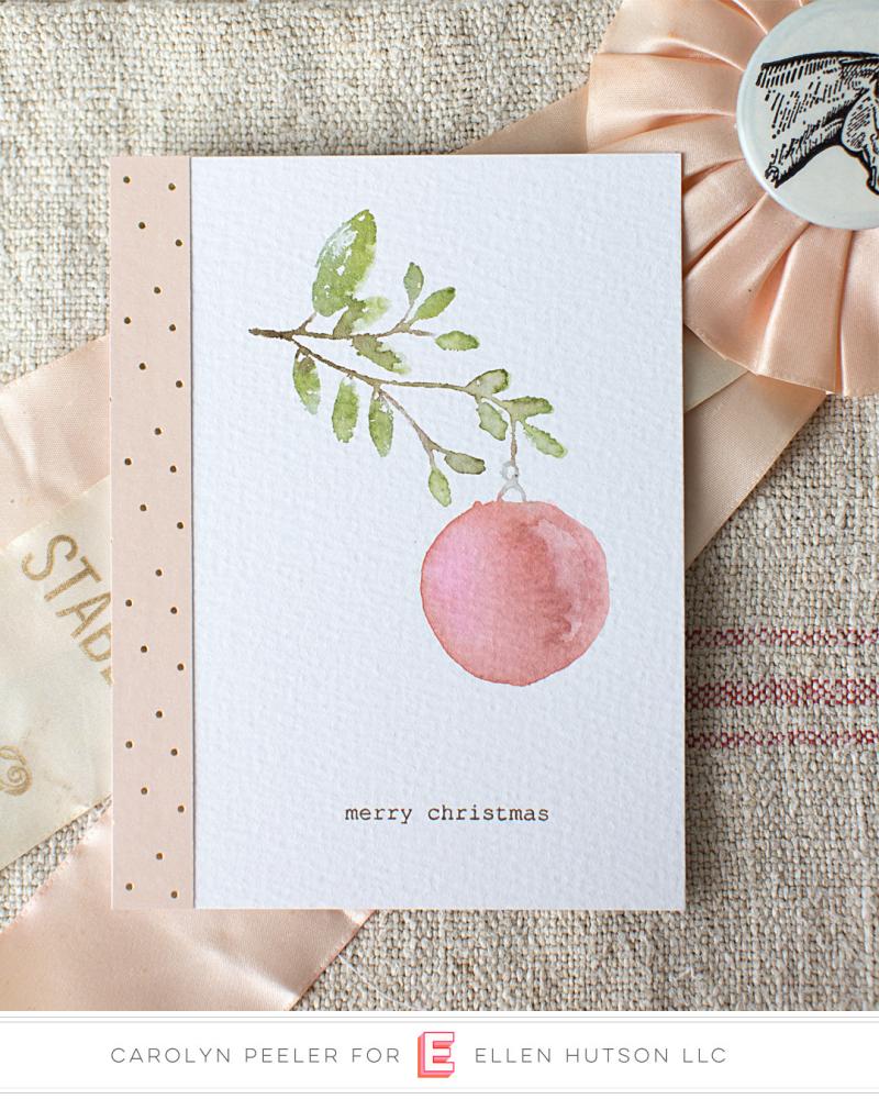 Merry Christmas card view 2 Carolyn Peeler