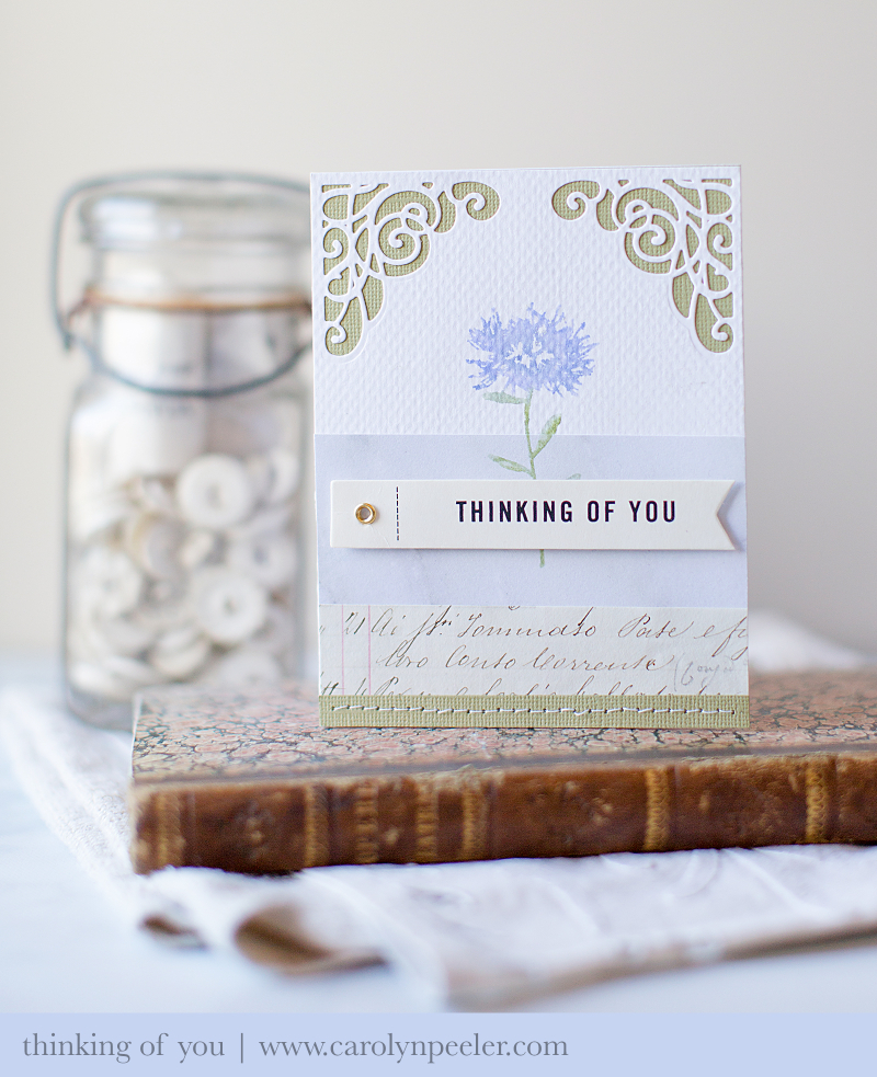 Thinking of you Spellbinders for blog