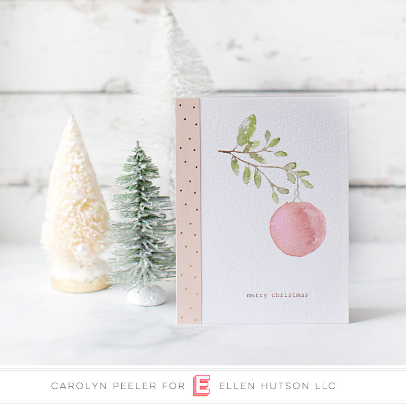 Merry Christmas card Carolyn Peeler