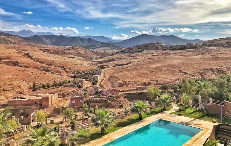 Marrakesh retreat landscape