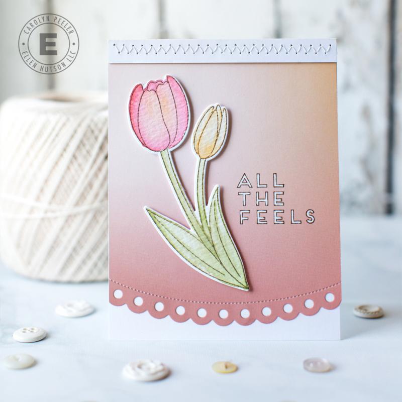 All the Feels Tulip Pretty Pink Posh by Carolyn Peeler