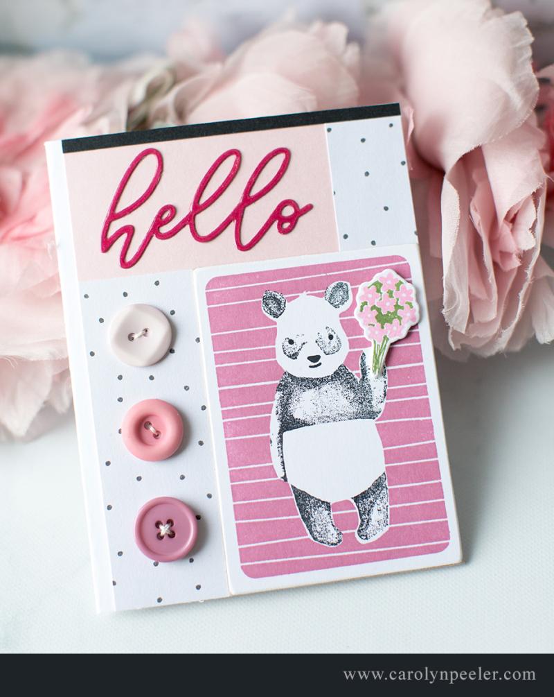 Hello Panda 2 by Carolyn Peeler for blog copy