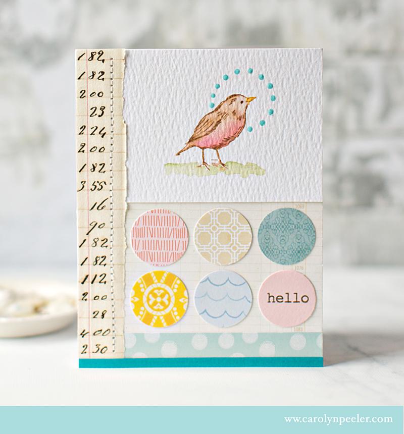 RS bird hello B by Carolyn Peeler