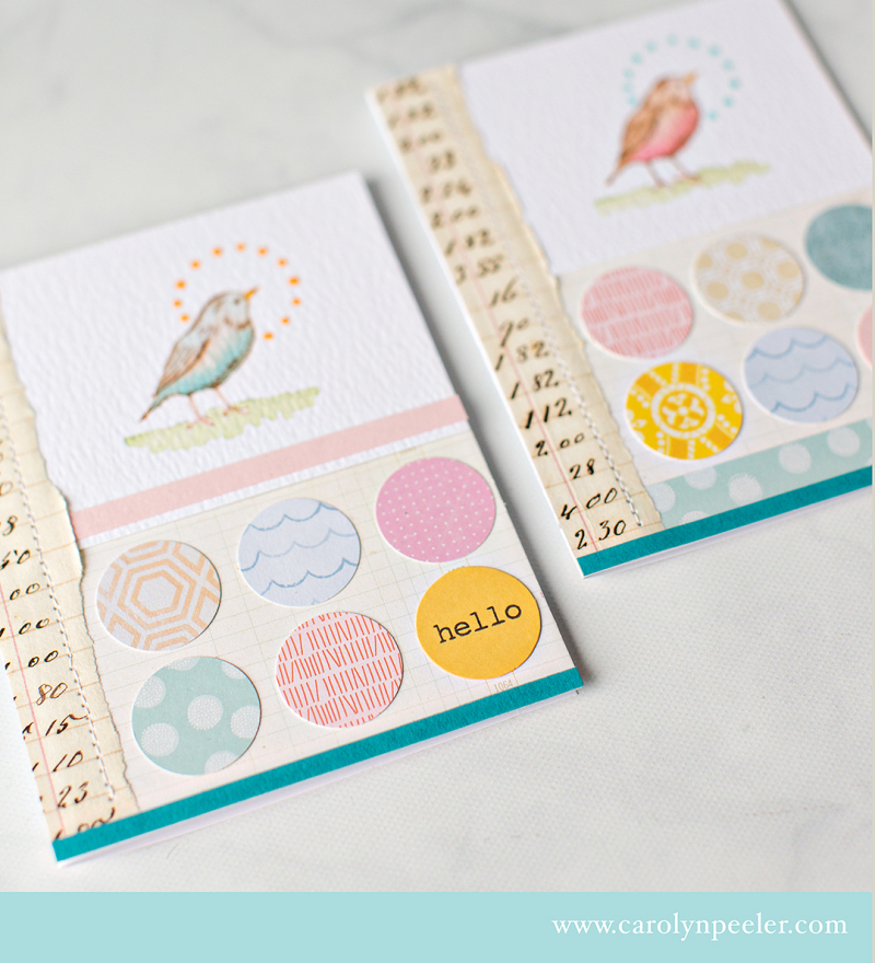 RS 2 bird cards close up B by Carolyn Peeler
