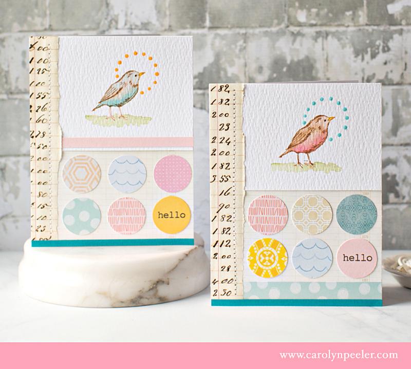 RS 2 bird cards B by Carolyn Peeler